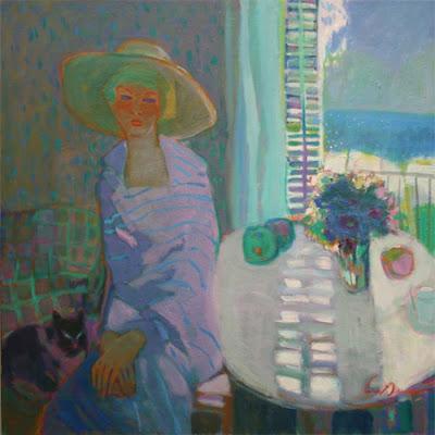 Mediterranean Paintings by Spainish Artist Luis Amer
