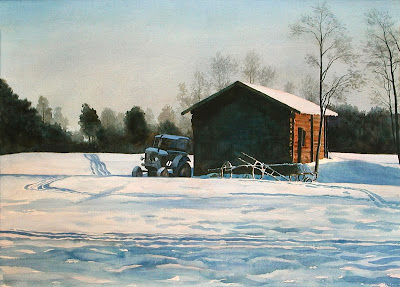 Landscape Painting by Swedish artist Lars Ostling