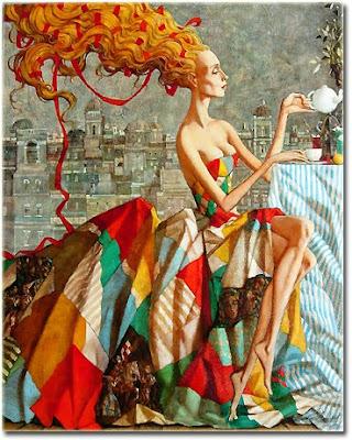 Russian Artist Roman Zaslonov's Paintings