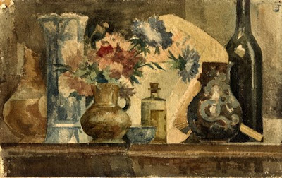 Still Life Painting by Belgian artist August Donnay