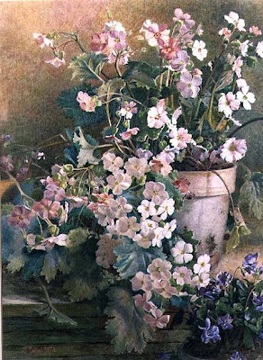 Watercolors by British Victorian Artist Hector Caffieri