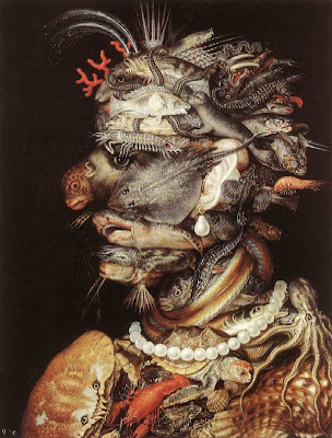 Paintings by Giuseppe Arcimboldo Water