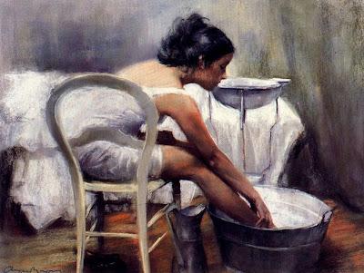 Pastels by Spanish Artist Cayetano De Arquer Buigas