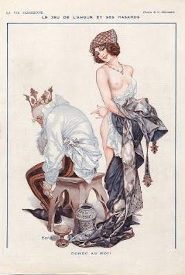 Illustration by French Artist Cheri Heruard