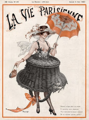 Illustration for La Vie Parisienne by French artist Cheri Heruard