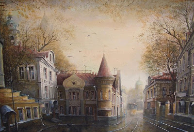 Paintings by Alexander Starodubov Russian Artist