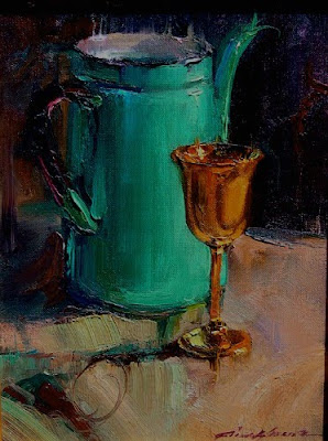 Still Life Painting by American Artist Richard Fillhouer