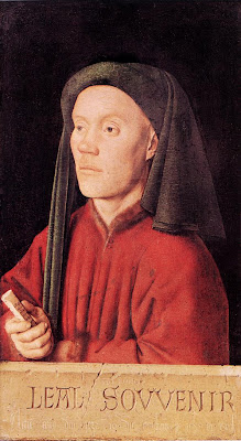 Portrait of a Young Man (Tymotheos) by Jan Van Eyck