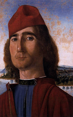 Portrait of an Unknown Man with Red Beret by Vittore Carpaccio