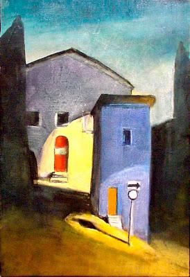 Oil Painting by American Artist Treacy Ziegler