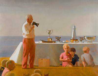 Oil Painting by American Artist Bo Bartlett