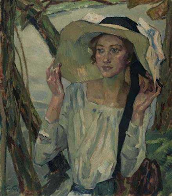Oil Painting by Leo Putz German Artist
