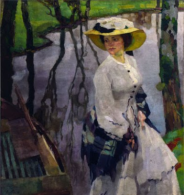 Women in Painting by Leo Putz German Artist