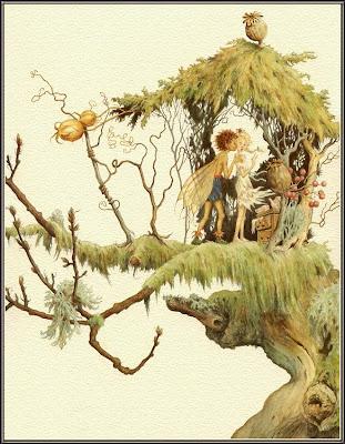 Illustration for Fairy Wings by Lauren Mills