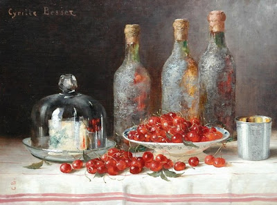Still Life Painting by Cyrille Besset