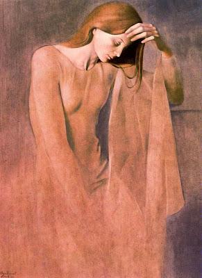 Painting by Montserrat Gudiol Spanish artist