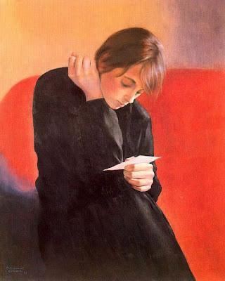Painting by Spanish artist Montserrat Gudiol