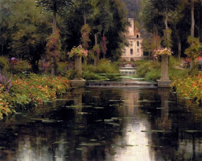 Landscape Painting by American Artist Louis Aston Knight