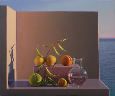 Still Life Painting by David Ligare American Artist