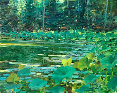 Landscape Paintings by David P. Hettinger American Artist