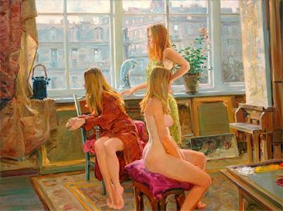 Paintings by David P. Hettinger American Artist