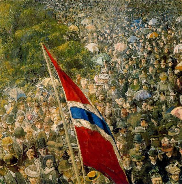 Paintings by Norwegian Artist Christian Krohg