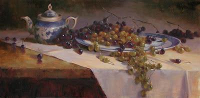 Painting by British Artist Owen Rohu