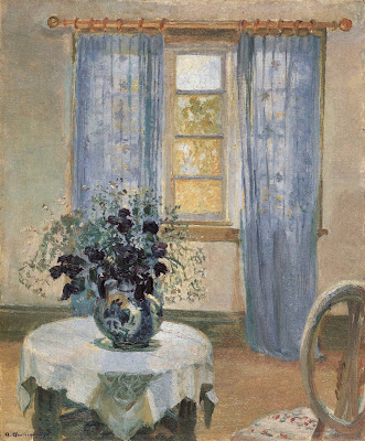 Interior Painting by Anna Ancher Danish Artist