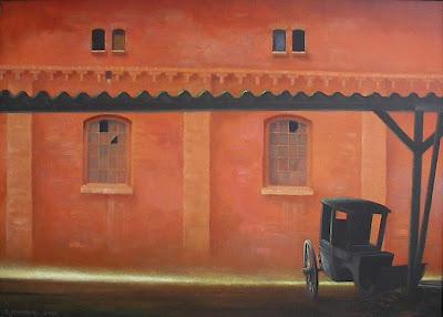 Paintings by Zbigniew Chrostek Polish Artist