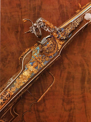 Dresden Armory (Rüstkammer). Wheellock Rifle, George Gessler, Dresden, 1611