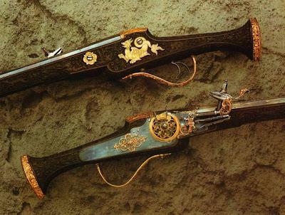 Dresden Armory (Rüstkammer). Wheellock Pistols, 1614