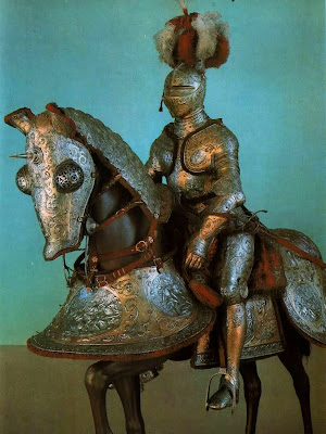 Dresden Armory (Rüstkammer). Armor for Rider and Horse, Antwerp, 1562-64