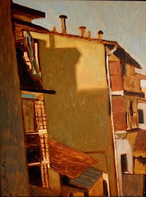 Painting by American Artist Jim Burke