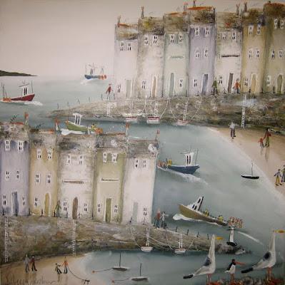 Paintings by British Artist Rebecca Lardner