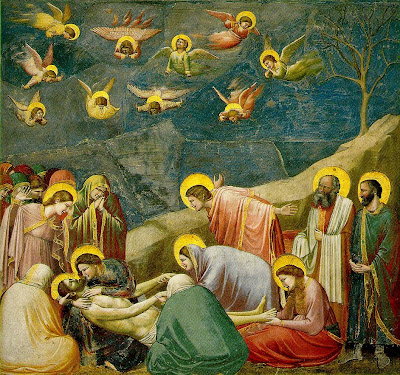 Giotto. Lamentation. The Mourning of Christ