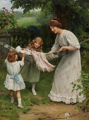 Painting by Arthur John Elsley