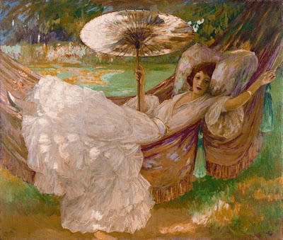 Sir John Lavery, Red Hammock