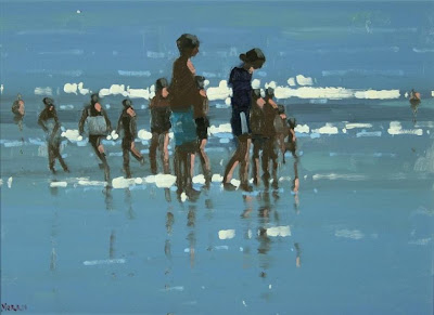 Seascape painting by British Artist John Morris