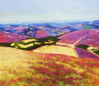Landscape Painting by German Artist Uwe Herbst