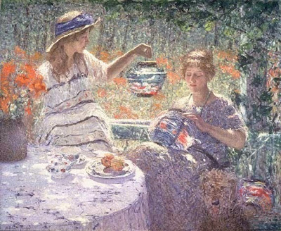 Painting by Helen M. Turner American Impressionist Artist