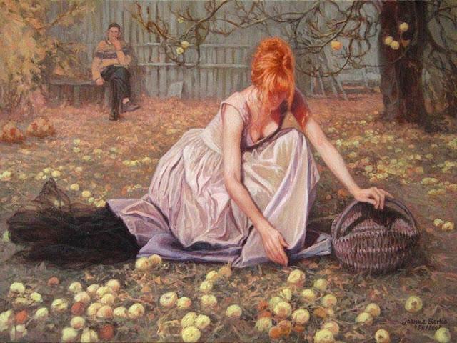 Women in Painting by Polish Artist Joanna Sierko