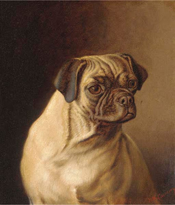 Animal Painting by Victorian Painter Horatio Henry Couldery