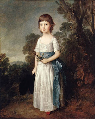 Children in Painting by Thomas Gainsborough