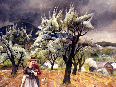 Spring Bloom in Painting. Leon Kroll, Spring Romance