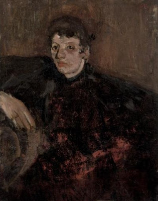Portrait by Dutch Artist George Hendrik Breitner
