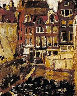 Oil Painting by Dutch Artist George Hendrik Breitner