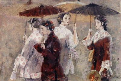 Women in Painting by Chinese Artist Yihang Pan