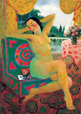 Nude Painting by Chinese Modern Artist Pan Yuliang