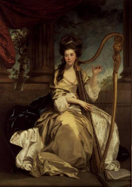 Women and Music in Painting 16-18th c, Sir Joshua Reynolds, Countess Of Eglinton