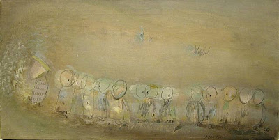 Loren MacIver. Procession of Small Beings 1938